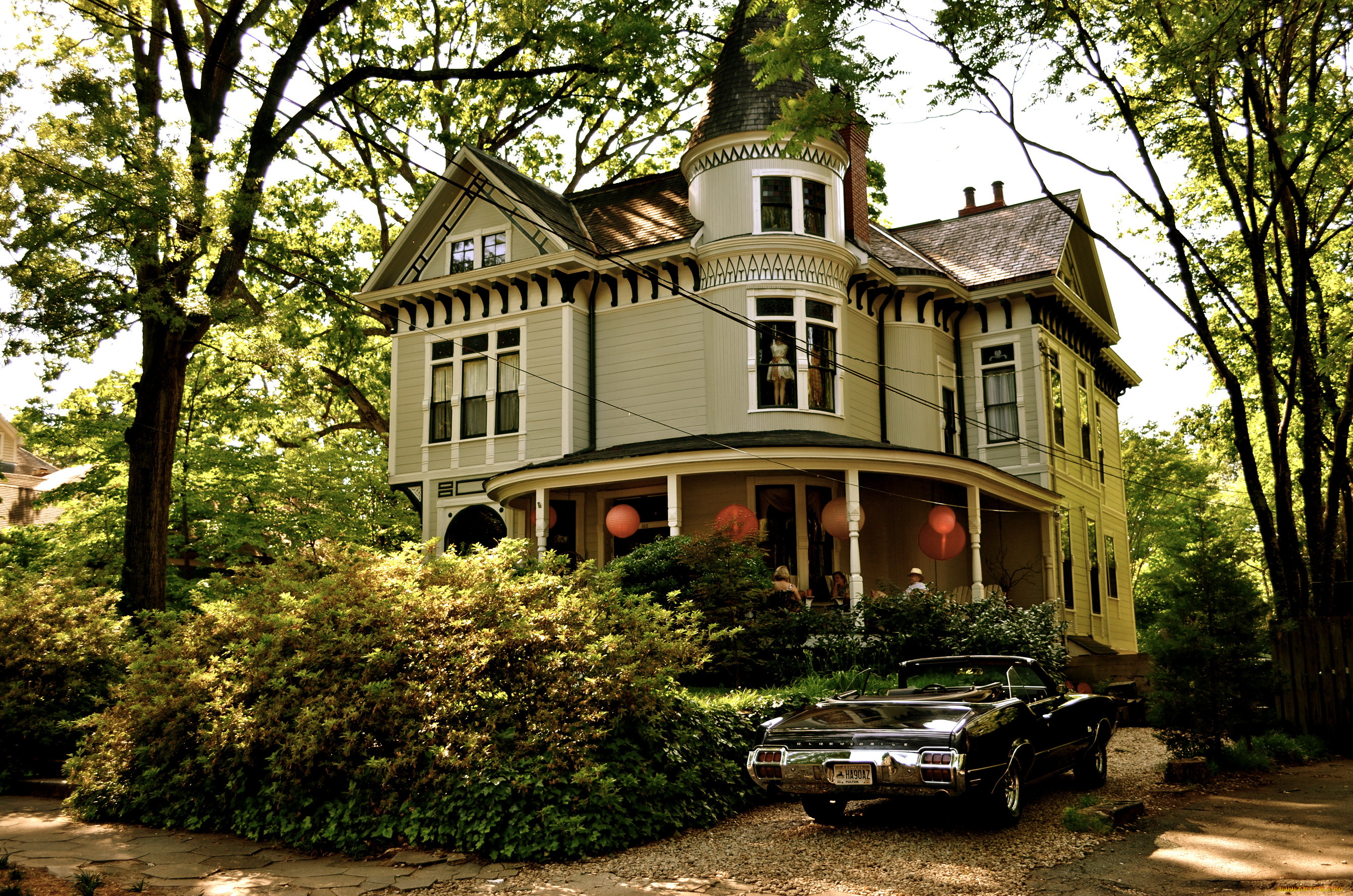 Картинки дом с автомобилем